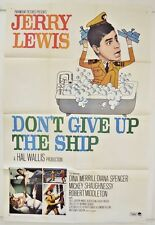 """Don't Give Up the Ship"" 16mm Feature Jerry Lewis + Dina Merrill  B&W 1959"