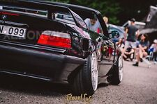 BMW E36 Convertible REAR Overfenders Fitment Lab WideBody Drift PHASE 2 (NEW!)