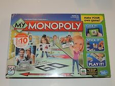 My Monopoly Make Your Own Board Game *New!* Hasbro
