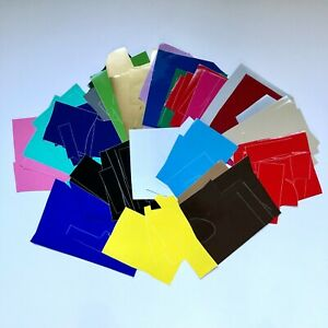1 Pound of Oracal 651 Permanent Adhesive Vinyl Scraps - Starter Pack Grab Bag