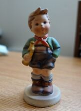 "Goebel Hummel ""Trumpet Boy"" Ceramic 4.5"" Figurine W Germany"