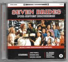 Seven Brides For Seven Brothers Original Soundtrack **EU CD Album**EXC
