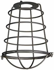 "Westinghouse 8503300 - 2-1/4"" Oil Rubbed Bronze Cage Neckless Metal Shade"