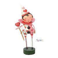 Love's Fool Lori Mitchell Collectible Valentine's Day Figurine NIB Free Shipping
