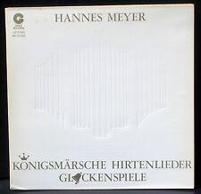 Hannes Meyer Königsmärsche Eglises de Coire,Tamins, Soazza & Mistail  LP M CV EX