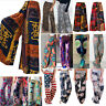 Women Boho Baggy Harem Loose Pants Hippie Wide Leg Gypsy Yoga Palazzo Trousers