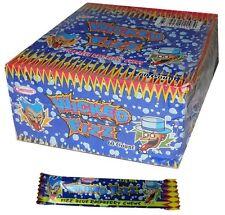 Bulk Lot 60 x Wicked Fizz Chews Blue Raspberry Candy Sweets Kids Lollies Favors