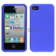 NEW Silicone Soft Slim Rubber Gel Case for Apple iPhone 4 4G 4S Blue 50+SOLD