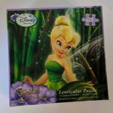 Disney's TinkerBell Fairies Lenticular Kids Puzzle 12 x 9 In, Fairy New, Sealed!
