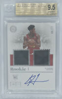 ROOKIE! 2019-20 Deandre Hunter Encased RC/AUTO/JSY (#11/49)! BGS 9.5/10!
