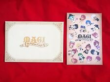 MAGI The Kingdom of magic Post card with envelop 2014 BANPRESTO