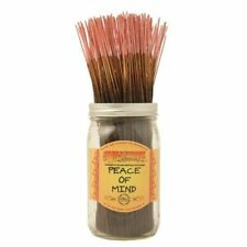 Wildberry Peace Of Mind Incense 10 sticks Floral Peach Currant Lilac Hyacinth