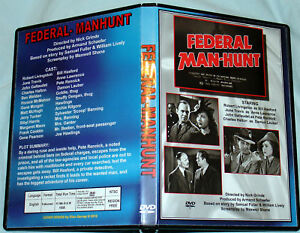 FEDERAL MAN-HUNT - DVD -Robert Livingston & June Travis