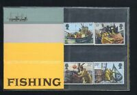 QEII 1981 Presentation Pack Fishing Industry Stamps
