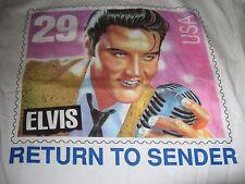 Elvis Presley Vintage 80S Return To Sender Tee Shirt Unused With Original Tags L