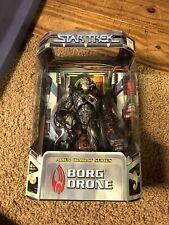 "Star Trek ALIEN COMBAT SERIES BORG DRONE:  9"" FINELY SCULPTED by ART ASYLUM  NEW"