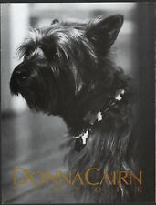 1988 Cairn Terrier in Donna Karan Spoof Ad