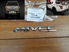 MITSUBISHI L200 MIVEC PICKUP LOGO Emblem Sticker Decal Badge Genuine Parts 3D