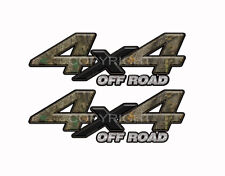 4X4 OFF ROAD FOREST Camo Decals Truck Stickers 2 Pack KM029ORBX