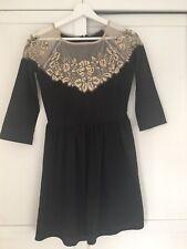 Topshop Vintage Style Lace Dress Size 6
