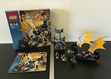 LEGO® Ritter Castle Knights Kingdom Set 8821 Kampfschiff + BA & Box