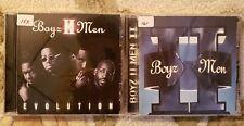 2 Boyz II Men CD's