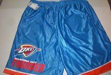 Nwt Mens $32 Oklahoma City Thunder Blue Drawstring Basketball Shorts Size 2Xl
