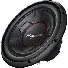 Pioneer 1300 Watt 12 Inch Single 4-Ohm Car Audio Subwoofer, Black | TS-W126M