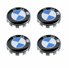 "4x For BMW Wheel Center Hub Caps Cover Badge Emblem Clips Logo 68MM 2.75"" 2-3/4"""