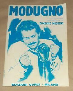 Modugno - Edizione Curci, 1982 - Spartito - testi e accordi