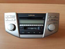 LEXUS RX 400h RHD CD PLAYER RADIO DISPLAY OEM 86120-48520
