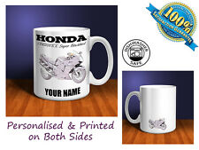 Honda CBR1100XX Super Blackbird Motorbike Personalised Ceramic Mug Gift (MB030)