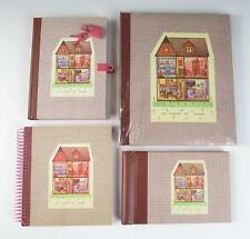 NEW French DOLLHOUSE STATIONERY Journal PHOTO ALBUM Notecards MAISON DE POUPEE