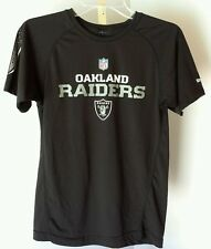 Oakland Raiders Ladies Nylon shirt Tag missing (See description for size)