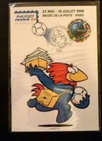 FRANCE STAMP TIMBRE PREMIER JOUR FDC YVERT N° 3139 COUPE FOOTBALL  3F PARIS 1998