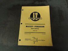 Massey-Ferguson  Model 1080 Shop Manual   MF-28   I & T