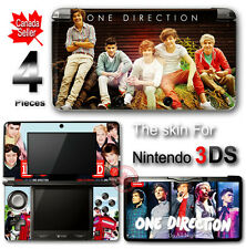 One Direction SKIN VINYL STICKER DECAL COVER for Nintendo 3DS