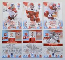 2016 BY cards IIHF World Championship Team Denmark Pick a Player Card