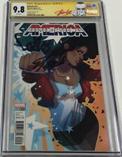 Marvel America #2 Sauvage 1:25 Variant Signed by Stan Lee CGC 9.8 SS Red Label