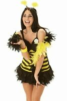 Rubies Ladies Bumble Bee Dress Womens Fancy Dress Small 8-10