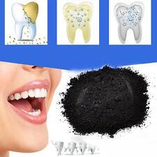20g natürliche organische Aktivkohle Zähne Whitening Reinigungspulver NEU