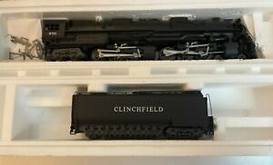 Rivarossi 4-6-6-4 Challenger Clinchfield N. 670 1597 Locomotive NEW