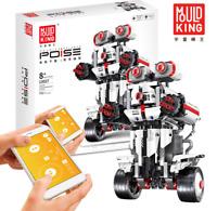 Bausteine Roboter Weiß Fernbedienung Spielzeug Geschenk Modell Kind 791PCS