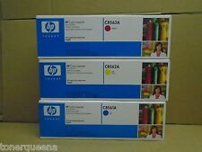 New ! 3PK GENUINE HP 9500 Imaging drum C8561A C8562A C8563A  YMC Facotry Seal