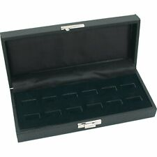 12 Wide Slot Black Ring Tray Display Jewelry Showcase 8 34 X 5 38