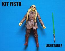 Star Wars Jedi Master Kit Fisto Action Figure!