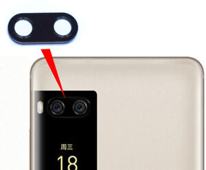 Replace Back Main Camera Glass Lens Cover Adhesive for Meizu Pro 7 / Pro Plus
