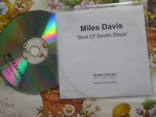 Miles Davis – The Best Of Seven Steps Sony BMG  Promo UK CD Album