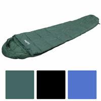 New Mummy Waterproof Outdoor Sleeping Bag Camping Travel Hiking W/Carrying Bag