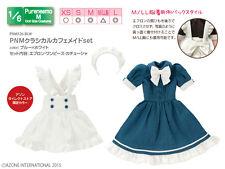Azone Pureneemo PNM Classical Cafe Maid Set Blue x White Momoko Pullip Obitsu